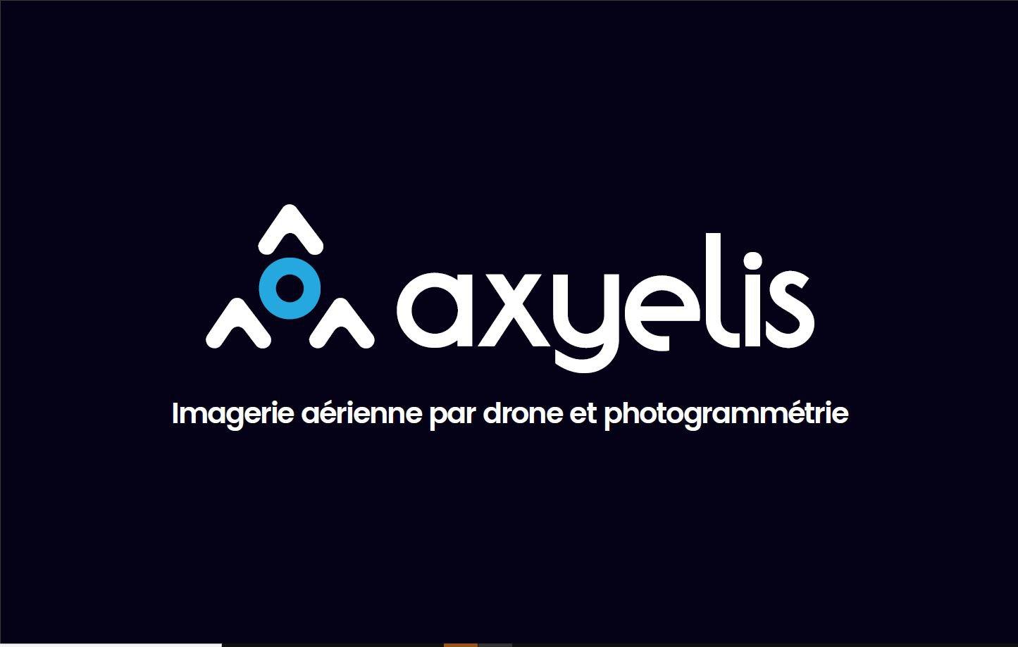 Axyelis imagerie aérienne par drone et photogrammétrie