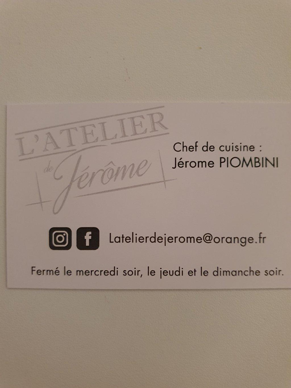 L'ATELIER DE JÉRÔME - RESTAURANT