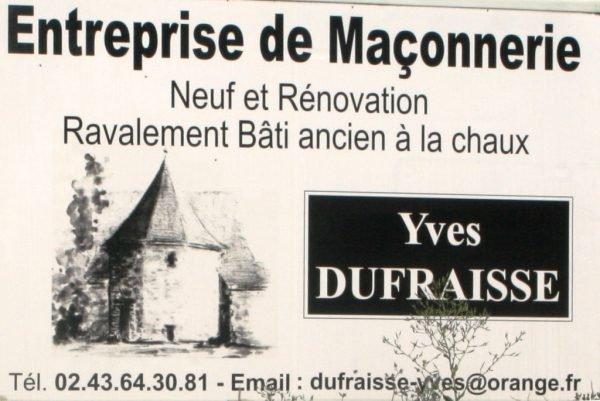 Entreprise de maçonnerie Dufraisse
