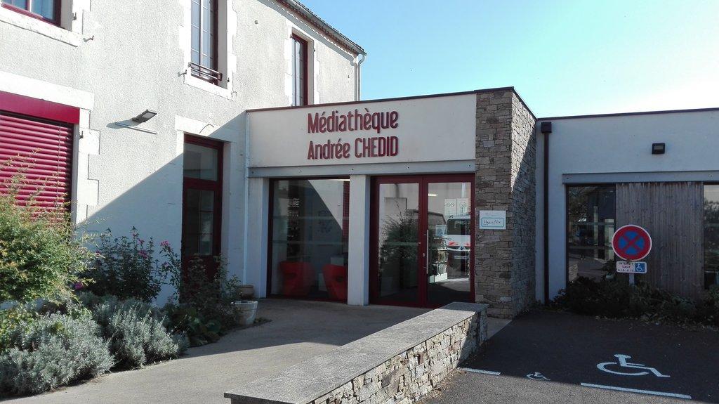Médiathèque Andrée Chedid