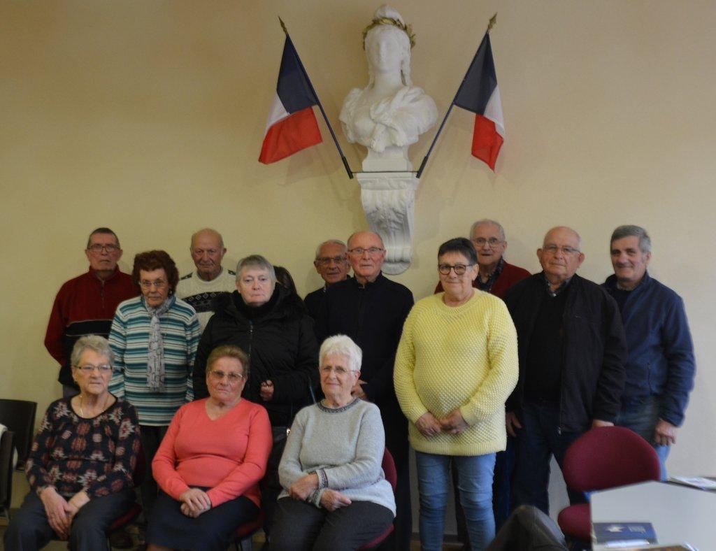 Section des anciens combattants et veuves de Laprugne