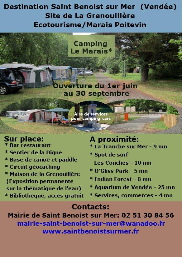 "Camping municipal ""Le Marais"""