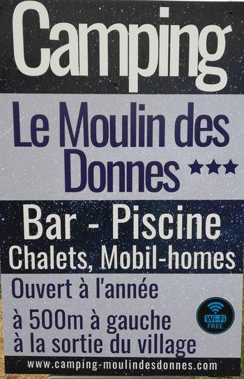 Camping Moulin des Donnes