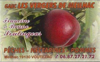logo Les vergers de Meilhac