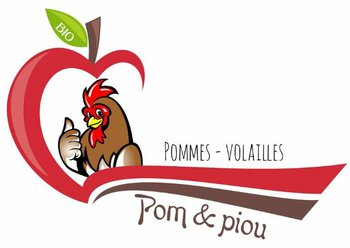 logo La ferme Pom & piou