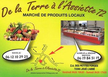 DE LA TERRE A L'ASSIETTE 72 : Producteurs locaux