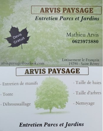 ARVIS PAYSAGE