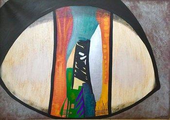 logo Guénolée Carrel peintre art brut ( artiste peintre)