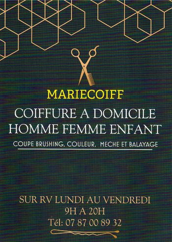 logo MARIE COIFF