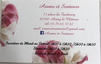 logo Arums et Senteurs