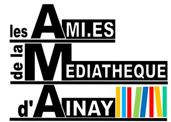 logo Les Ami.es de la médiathèque d'Ainay