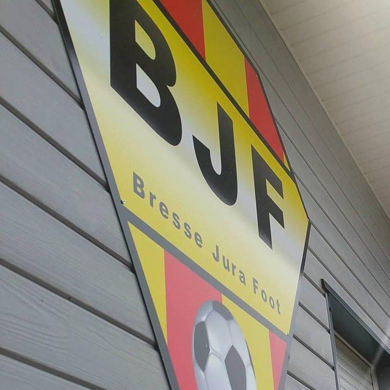 logo Bresse Jura Foot
