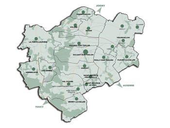 CC de l'Aillantais en Bourgogne