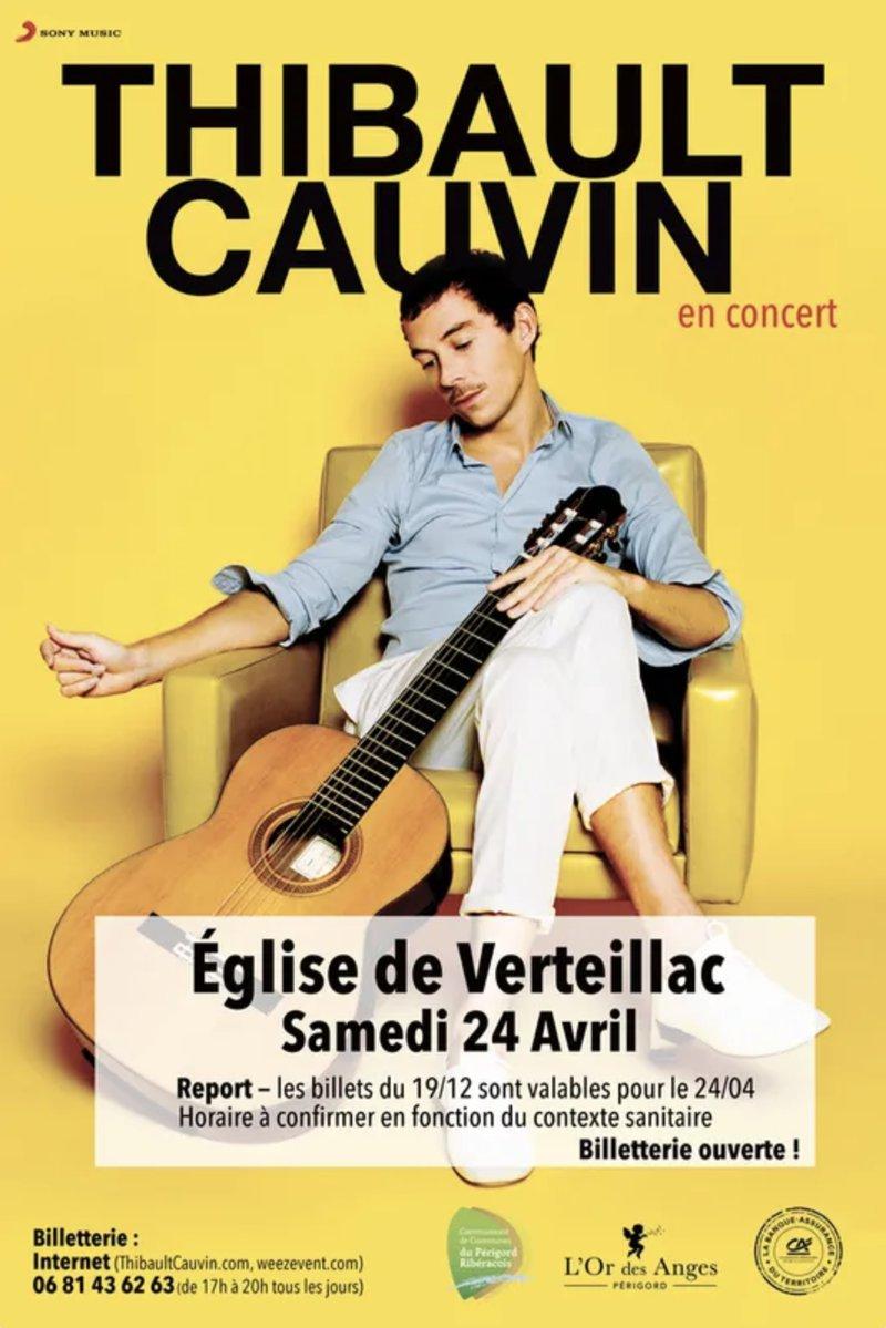 Concert Thibault Cauvin annulé