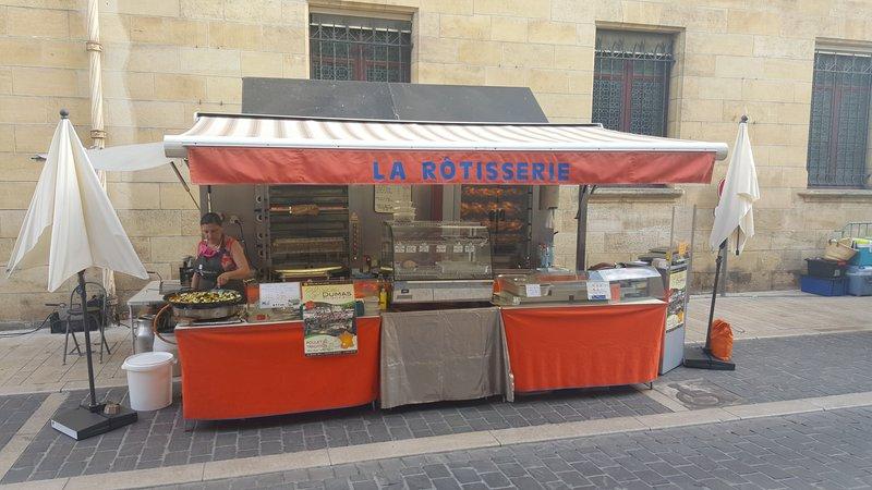Une rôtisserie débarque sur le marché