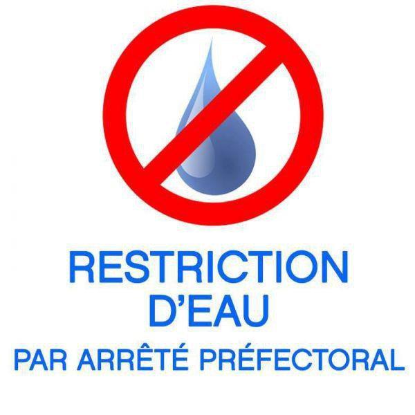 Restrictions d'eau