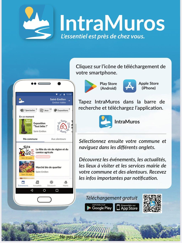 Arghjusta è Muricciu sur IntraMuros.Une application mobile au service des citoyens.