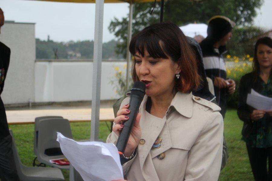 Muriel Bazin, présidente du S